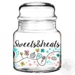 Банка для сипучих Glasmark Sweets&Treats 635мл