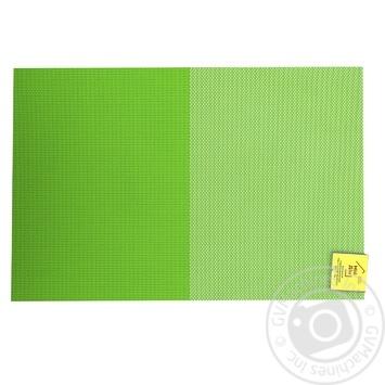 Коврик сервировочный Зелено-салатовый 30Х45см - купить, цены на МегаМаркет - фото 1