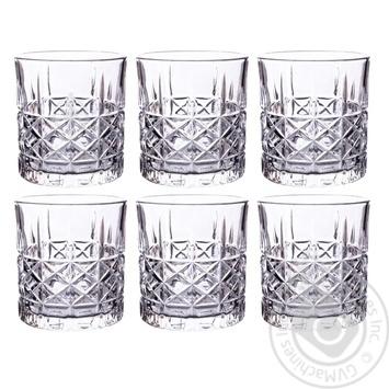 Набір склянок Кристал 6 шт. 330 мл