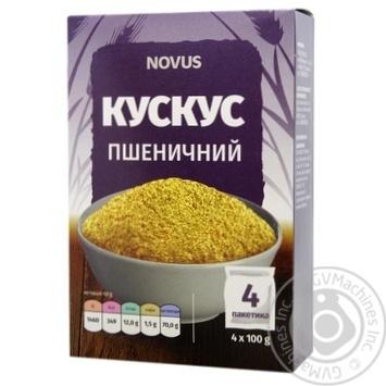 Novus Portioned Wheat Couscous 4x100g