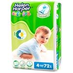 Подгузники Helen Harper Soft&Dry Maxi 4 7-18кг 72шт