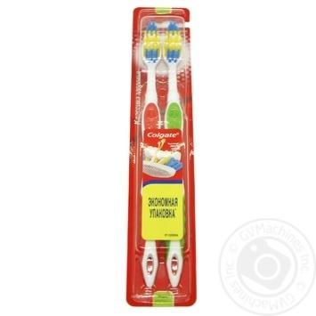 Зубная щетка Colgate Классика Здоровья многофункциональная средней жесткости - купить, цены на Таврия В - фото 2