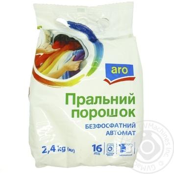 Стиральный порошок Aro бесфосфатный автомат 2,4кг