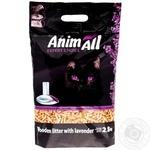 Наполнитель AnimAll с ароматом лаванды 2,8кг
