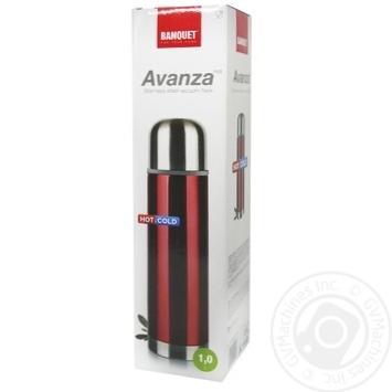 Термос Banquet Avanza Red 1л