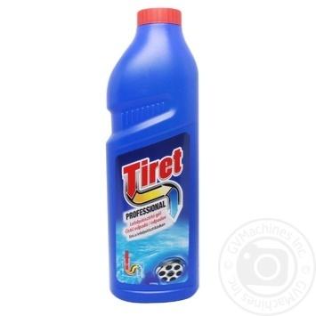 Засіб Tiret Professional для чищення каналізаційних труб 1л - купити, ціни на МегаМаркет - фото 1