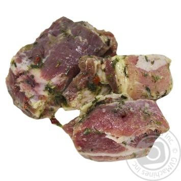 Свиной шашлык в маринаде