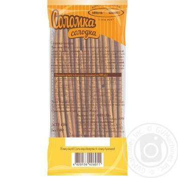 Соломка Киевхлеб сладкая 100г - купить, цены на Novus - фото 2