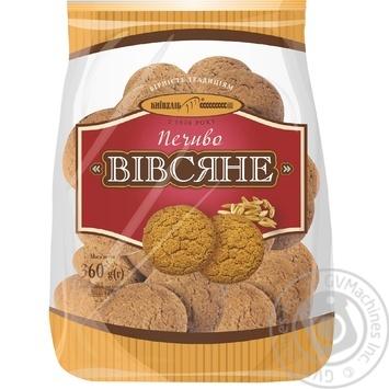 Печенье Киевхлеб Овсяное 400г Украина - купить, цены на Фуршет - фото 1