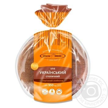 Хлеб КиевХлеб Украинский Столичный нарезанный 950г