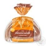 Хліб Київхліб Український столичний нарізаний 475г - купити, ціни на МегаМаркет - фото 1