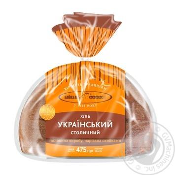 Хлеб Киевхлеб Украинский Столичный нарезка 475г - купить, цены на Ашан - фото 4