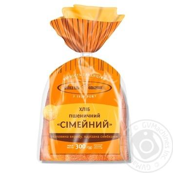 Хліб пшеничний Київхліб Сімейний половина нарізана в упаковці 300г - купити, ціни на CітіМаркет - фото 1