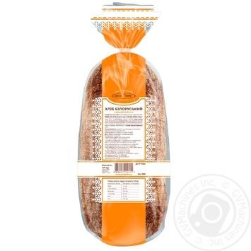 Хліб КиївХліб Білоруський житній нарізаний 700г - купити, ціни на Фуршет - фото 3