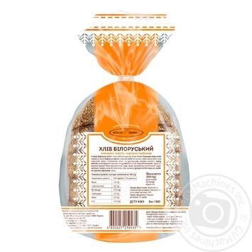 Хліб Київхліб Білоруський половина нарізка 350г - купити, ціни на Фуршет - фото 4