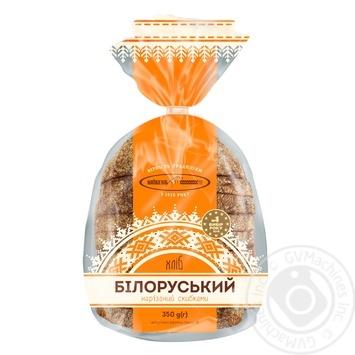 Хліб Київхліб Білоруський половина нарізка 350г - купити, ціни на Фуршет - фото 3