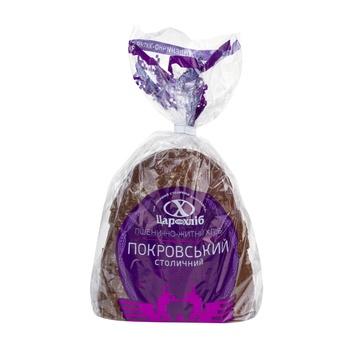 Хліб Цар Хліб Покровський  столичний половинка нарізаний скибками в упаковці 300г