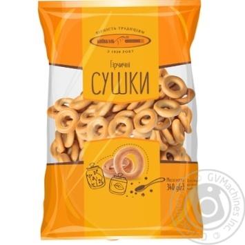 Сушки Киевхлеб горчичные 400г Украина - купить, цены на Фуршет - фото 1
