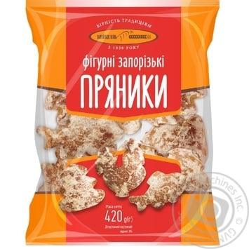 Пряники Киевхлеб Фигурные запорожские 420г - купить, цены на Фуршет - фото 1