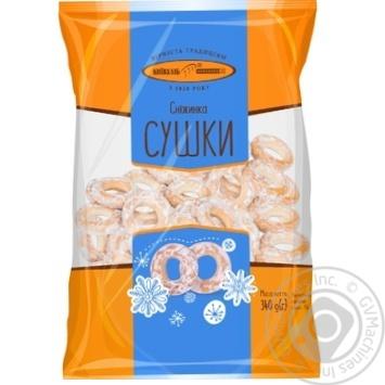 Сушки Киевхлеб Снежинка 340г - купить, цены на СитиМаркет - фото 1