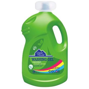 Гель-концентрат Clean House для прання кольорових виробів 4кг