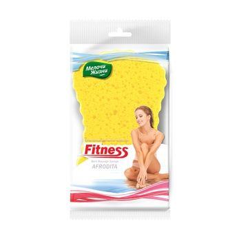 Melochi zhizni Aphrodite Massage Bath Sponge - buy, prices for Furshet - image 1