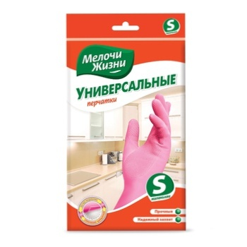 Melochy Zhyzny Household Cotton Gloves 2pc - buy, prices for Furshet - image 1