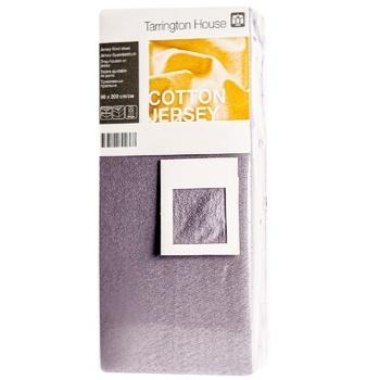 Tarrington House Sheet on an elastic band graphite 90Х200cm - buy, prices for Metro - image 1