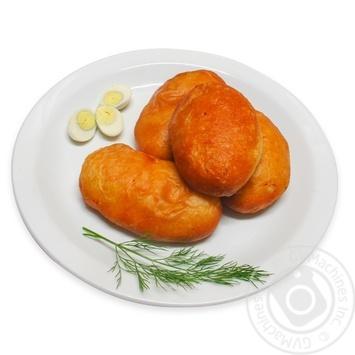 Пирожки жареные с рисом и яйцом - купить, цены на МегаМаркет - фото 1