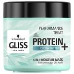 Маска Gliss Kur Performance Treat Зволоження 4в1 для пошкодженого сухого волосся 400мл