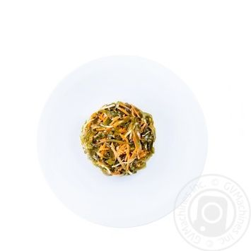 Капуста морская с морковью и сельдереем
