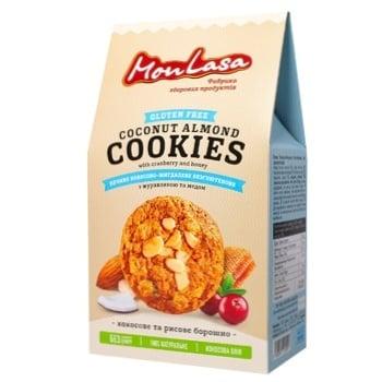 Печенье Mona Lisa Кокосово-миндальное безглютеновой 120г