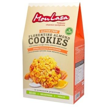 Печенье MonLasa Флорентини безглютеновое 120г - купить, цены на МегаМаркет - фото 1