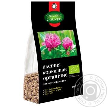 Семечка клевера ORGANIC COUNTRY для проращивания органическая