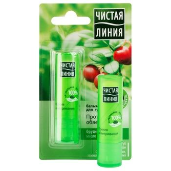 Balsam Chistaya liniya with lingonberry for lips 4g - buy, prices for MegaMarket - image 1