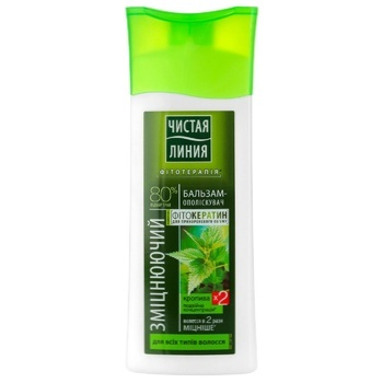 Pure Line Nettle Strengthening Conditioner for All Hair Types 250ml - buy, prices for Furshet - image 1