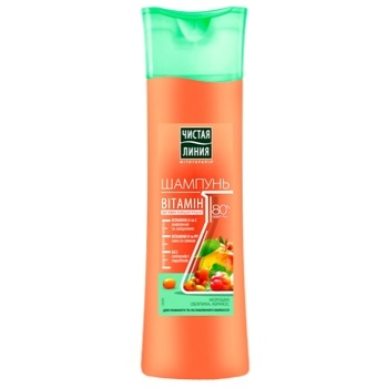 Chistaya Liniya Cloudberry Shampoo 400ml - buy, prices for CityMarket - photo 1