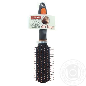 Мини-щетка для волос Titania массажная 1331 шт