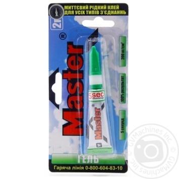 Master Gel Super Glue 2g - buy, prices for Tavria V - image 1