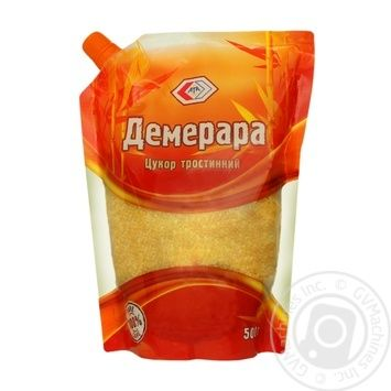 Цукор Ата Демерара тростинний 500г - купити, ціни на МегаМаркет - фото 1