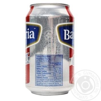Пиво Bavaria Holland Premium светлое безалкогольное ж/б 0% 0,3л - купить, цены на Novus - фото 3