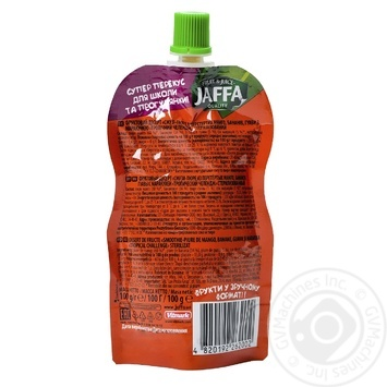"Smothie- puree Jaffa Crazy Fruit ""Tropical Challenge"" Mango- Banana- Guava- Passion Fruit 100ml - buy, prices for Auchan - image 2"