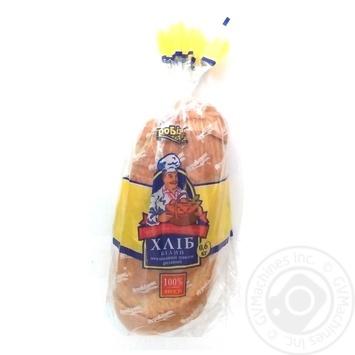 Батон Агробізнес пшеничний нарізаний з маком 600г - buy, prices for Auchan - photo 1