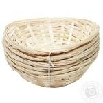 Aro Oval Wicker Basket 20х15cm 6pcs