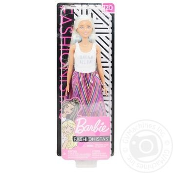Barbie Fashionistas toy doll in stock - buy, prices for MegaMarket - image 1