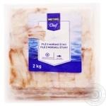 Metro Chef frozen fish hake 2kg
