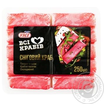 Vici Snow Crab Chilled Crab Sticks 250g - buy, prices for MegaMarket - image 1