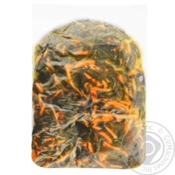 Морская капуста Бравита с морковью по-корейски 1кг - купить, цены на Метро - фото 1