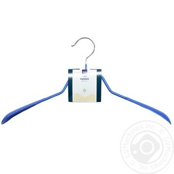 Вішалка Metro Professional металеві з широкими плечиками синя - купити, ціни на Метро - фото 1