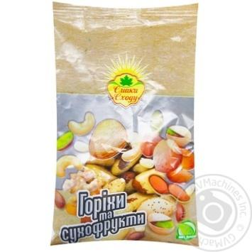 Орех бразильский Смаки сходу 100г - купить, цены на Метро - фото 1